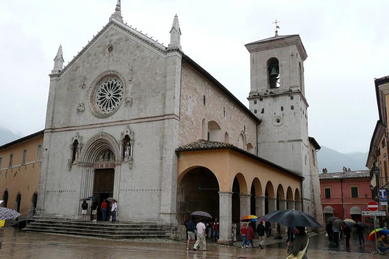 San Benedetto. Norcia, Umbria