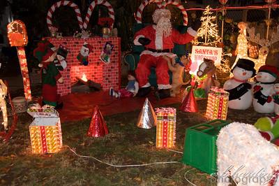 Fire Dept Santa Run