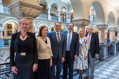 Alytus, Lithuania Mayor and Deputy Mayor Visit
