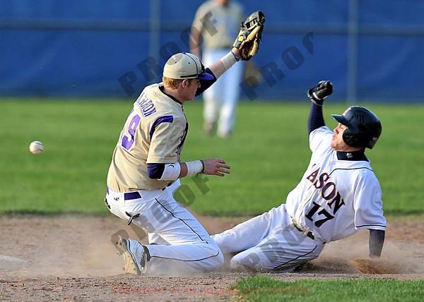 Varsity Baseball - Fowlerville at Mason - April 19 - Game 2