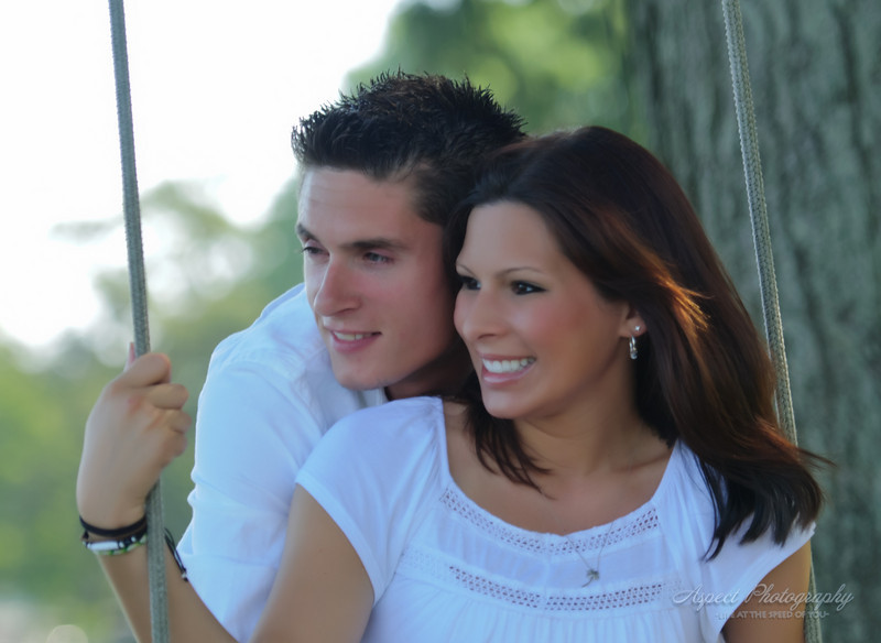 Ashley & Basil engagement