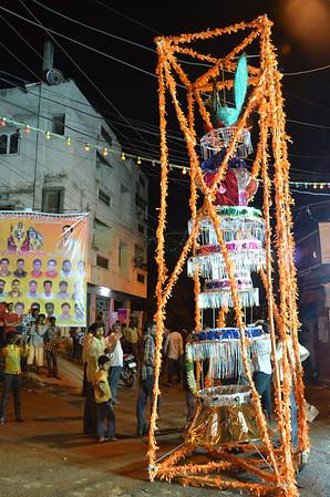 Bonalu Festival Palaram Bandi