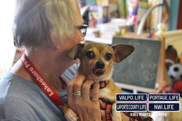 Lakeshore PAWS Visits Bargain Barn 2015