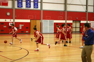 Boys 7th Grade Basketball - 2010-2011 - 12/1/2010 Orchard View