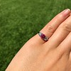 1.71ctw Ruby and Diamond Trilogy Ring 29