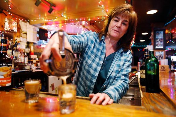 Bartender Annette Guerino at State Street Tavern-040319