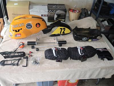 Ducati S1000 race bits