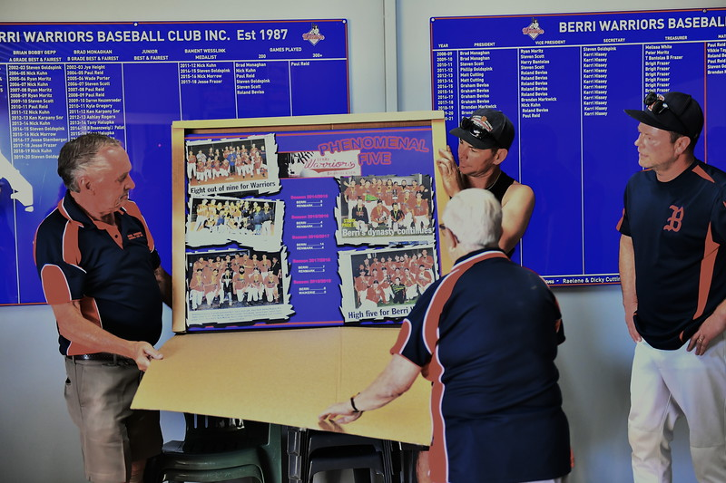 Berri Baseball Club poster