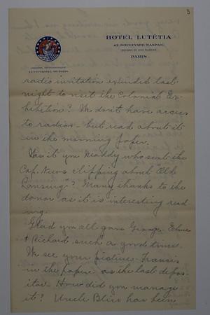 Letters Burley Burgoyne