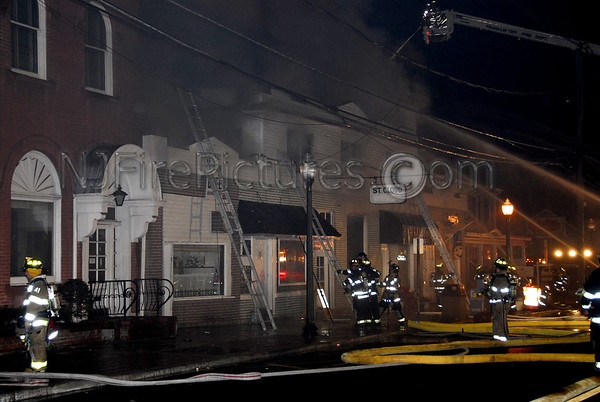 Washington Boro, NJ 7 Alarm Fire at St.Cloud Hotel 9/27/2007