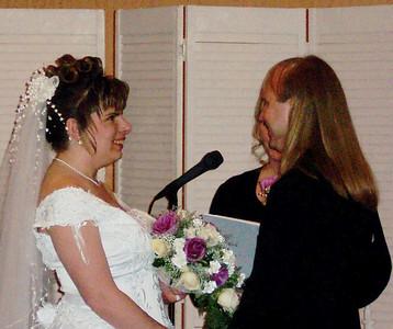 2003 Wedding Kathy and Mark