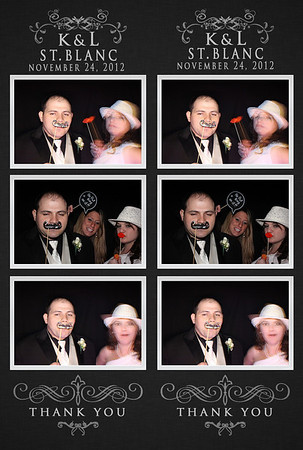2012-11-24  Katelyn & Lon St Blanc Wedding