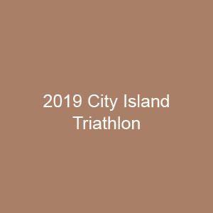 2019 City Island Triathlon