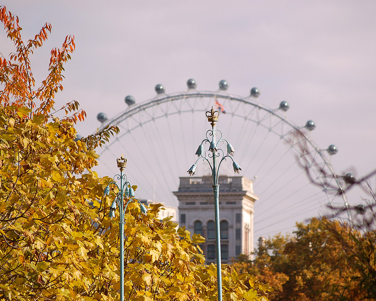 St. James's Park and the Eye