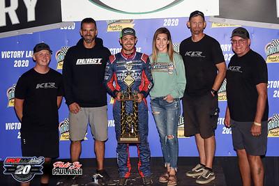 Knoxville Raceway - All Star Sprints - 8/1/20 - Paul Arch