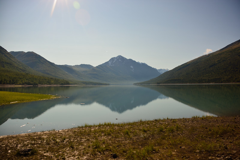 Eklutna Lake og Bold Peak