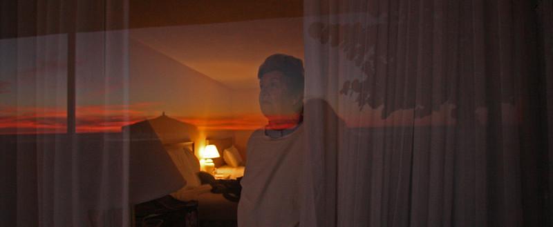 Sunset from the Helmsley Sandcastle Hotel, Sarasota, Florida