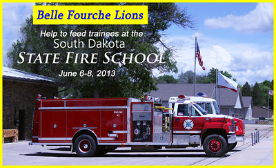 Thanks to the following Lions for helping set up and serve during the State Fire School: Rick Walton, Harry Haivala, Brian Kline, Rich Drabek, Tom Nary, Lee Voyles, Leo Orme, Tim Cleveland, Ron Ensz, and Larry Miller.