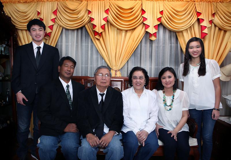Lin Family Portrait
