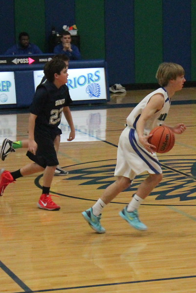 Middle School Boys Basketball vs CCA 1.23.15