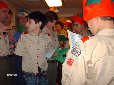 Caroling at Briarleaf 2009