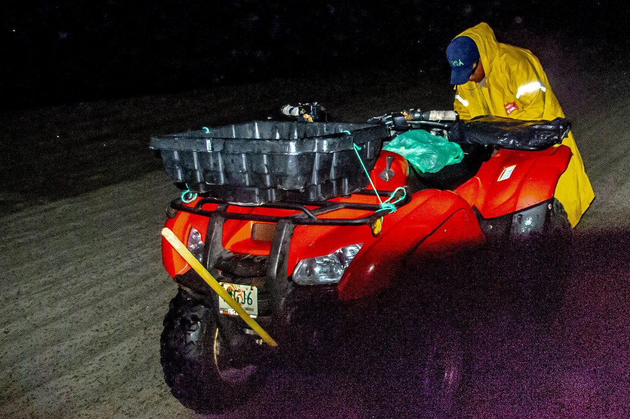 This Four-Wheeler Didn't Offer Much Protection from the Storms