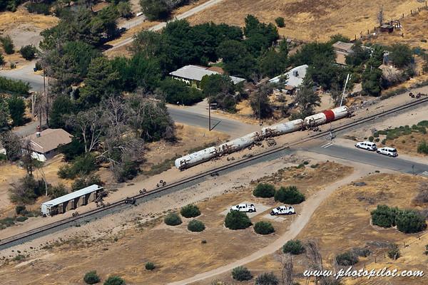 Little Rock Train Derailment