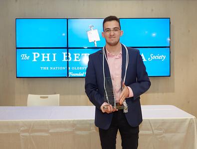 Phi Beta Kappa Induction Ceremony - April 15, 2018