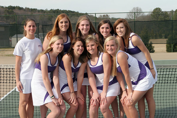 Darlington Tennis Varsity Groups 2007