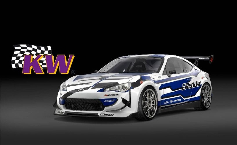 KW Variant 3 coilover suspension for 2012 Scion FR-S & Subaru BR-Z