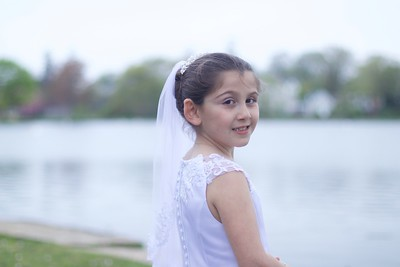 Gianna's First Holy Communion