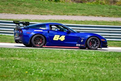 2021 SCCA Pitt Race Aug TT Blu 64 Vette