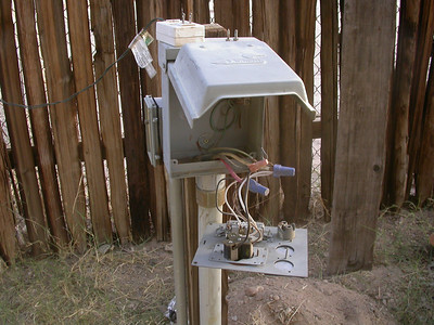 Backyard Wiring