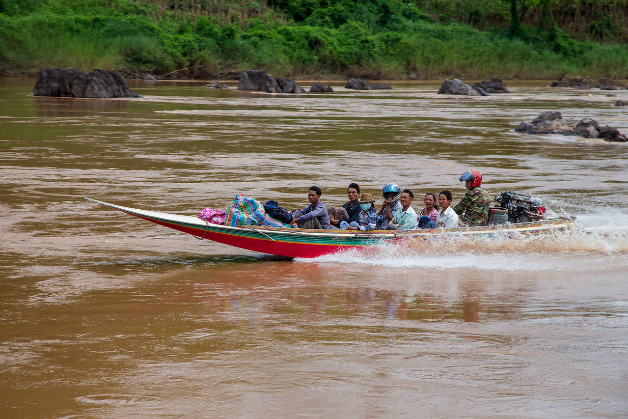 Mekong River Fast Boat