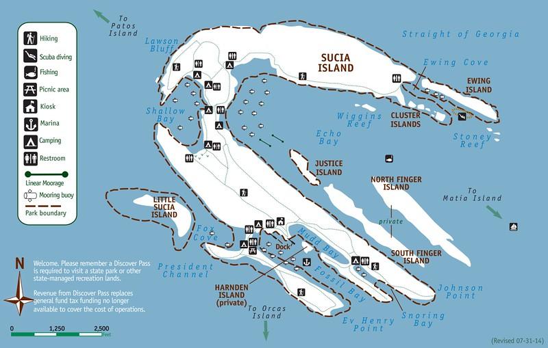Sucia Island Marine State Park