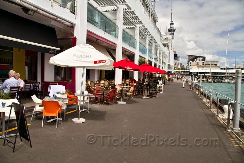 Restaurants of Princess Wharf