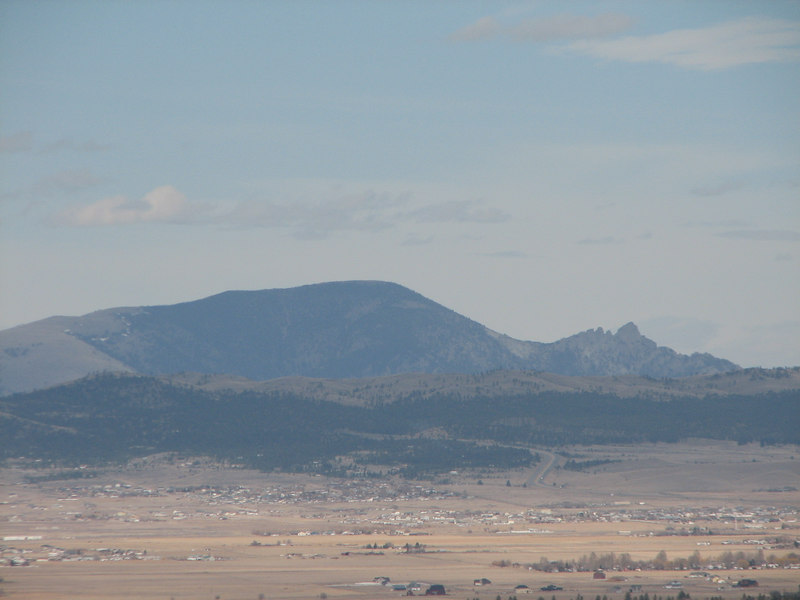 The Sleeping Giant...to the north of Helena