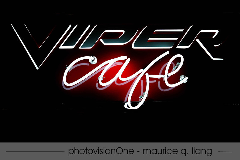 Grand Opening of Viper Cafe at Walter P Chrysler museum on June 9, 2012 in Auburn Hills.