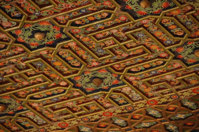 Id Kah Mosque Ceiling Design - Kashgar, China