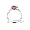 1.52ct Ruby Halo Ring, GIA No Heat 3