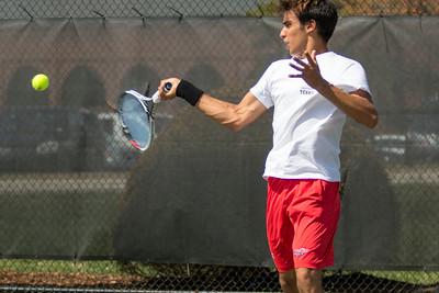 Men's Tennis vs. S.C. State March 2017