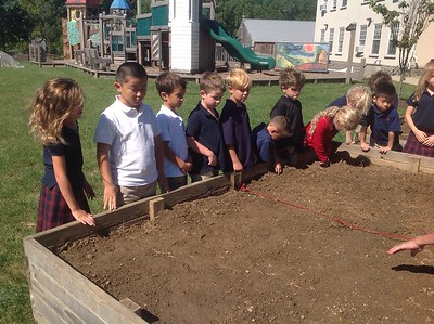 1C Plants Edamame with Mrs. Martin