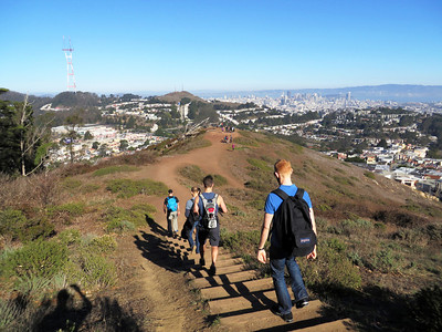 SF Urban Hike: Jan 4, 2014