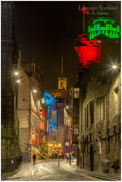 Castlehill Christmas illuminations (1)