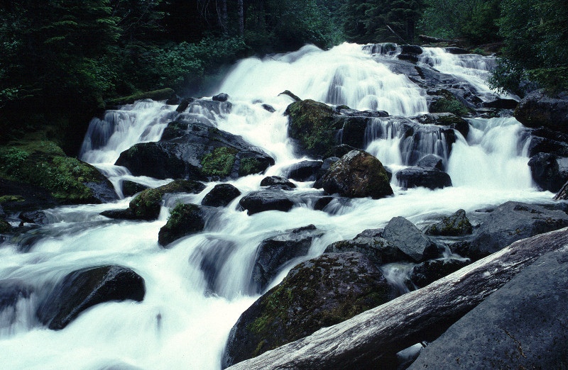 Cataract Falls in Washington State.