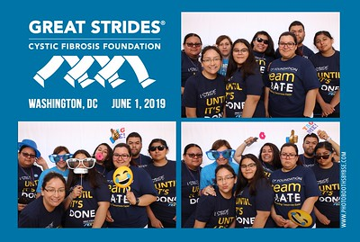 Cystic Fibrosis Foundation Great Strides DC 2019