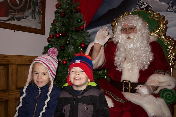 Christmas and Thomas Land 2013