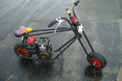 Skully the Vintage Minibike