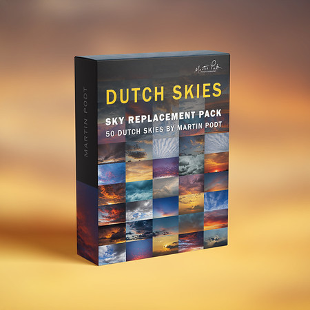 Sky replacement pack - Dutch skies