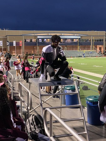 Game vs O'conner (pink out) - 10/19/2018